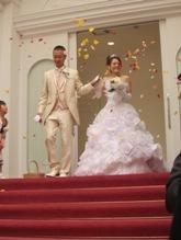 結婚式 001