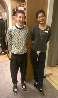 小林さんと西俣君